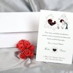 Invitație de nuntă 30013
