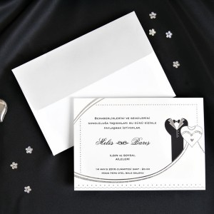 Invitație de nuntă 30018