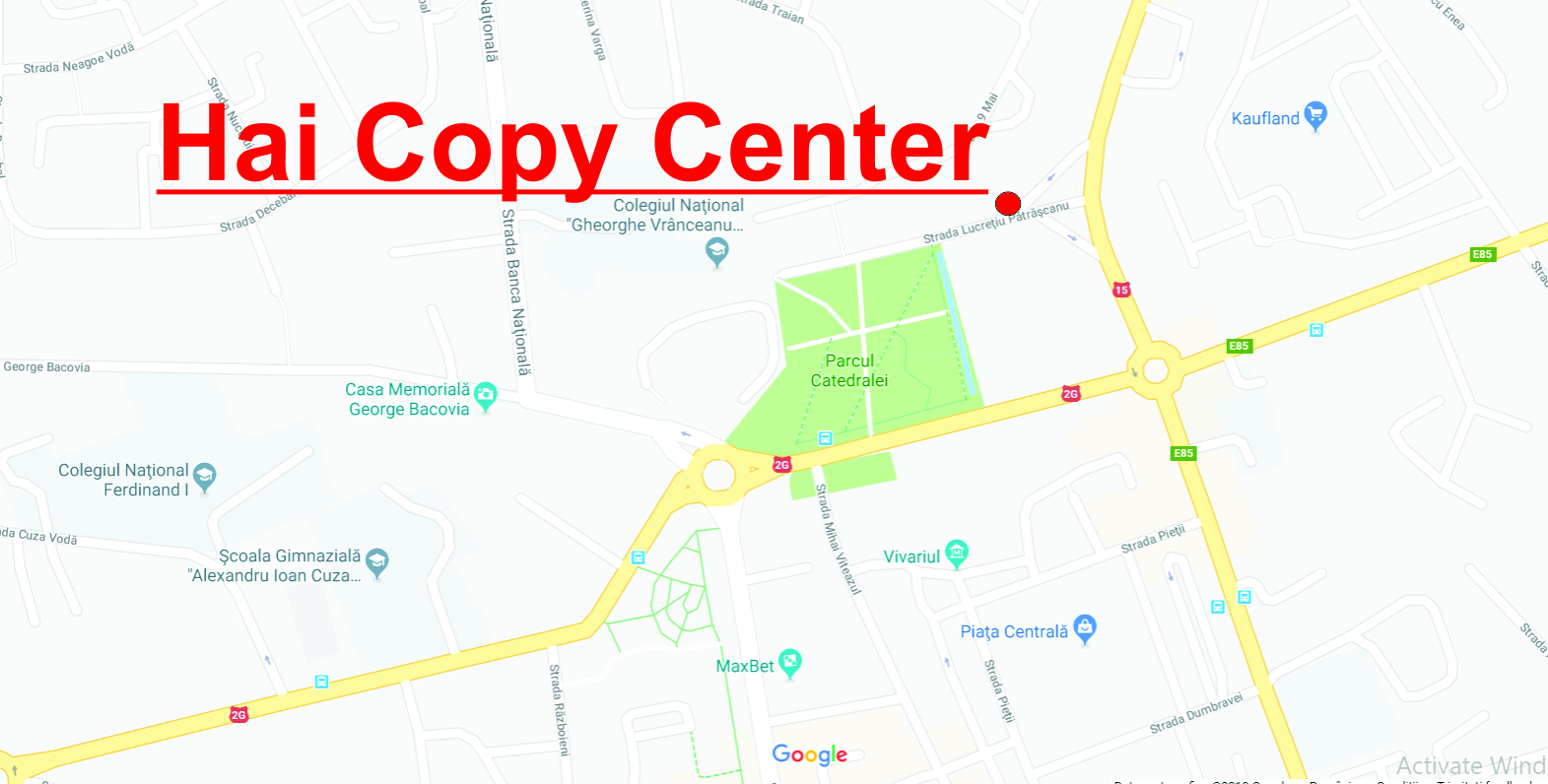 copycenter bacau
